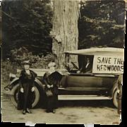 Save The Redwoods League Photo Circa 1918