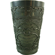 Louisiana Purchase Expo St. Louis 1904 Pewter Cup