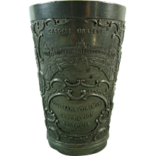 Louisiana Purchase Expo St. Louis 1904 Pewter Cup - Red Tag Sale Item
