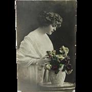 Beautiful Young Woman Fraulein Photo Print