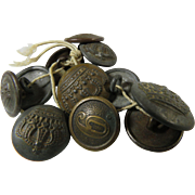 German Imperial WWI Uniform Buttons