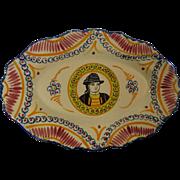 Henriot Quimper 117 Ivoire Corbeille Oval Platter