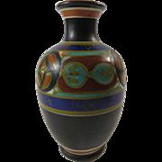 Gouda Dutch Holland Rhodian Vase Hand Painted
