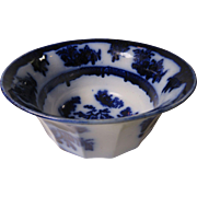 Wedgwood Dark Flow Blue Chapoo Bowl