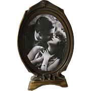 Pie Crust Gilded Photo Frame Art Nouveau 1915