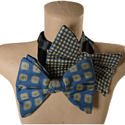 Studly Man Bow Ties Foulard 1920s Chic