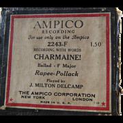 Ampico Reproducing Piano Roll Charmaine 2243F