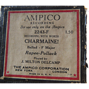 Ampico Reproducing Piano Roll Charmaine 2243F