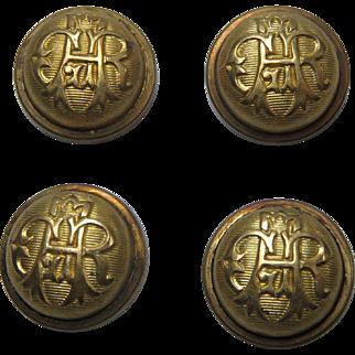 GAR Uniform Button Covers Set Of 4