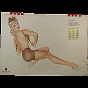 Varga Complete 1944 Calendar Esquire With Verses