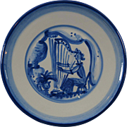 M A Hadley Plate Discontinued Musicians Series