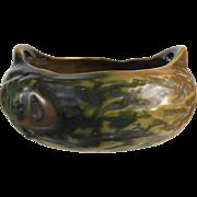 Roseville Imperial I Rustic Flower Bowl