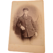 Cabinet Card British Uniformed Man