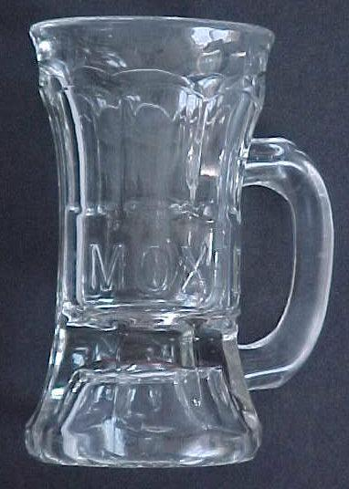 Moxie Soda Embossed Advertising Mug