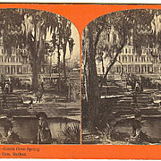 Green Cove Spring, Florida Hotel Stereoview by Barker