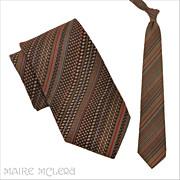 """1970's Liebert Men's Tie - Grt Textile  4"""""""