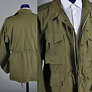 1951 Mens Field Jacket Outerwear - Korean War Era  M / L