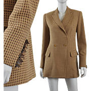 Vintage Gianfranco Ferre Dior Long Jacket Blazer S