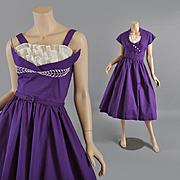 1950s Designer Joan Miller Dress - Crop Jacket