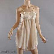 1920's Teddy Bra RARE Silk All-in-One Bra Chemise - Dorothy Bickman