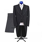 1950s Complete 3 pc Morning Suit Tuxedo Formalwear MINT 40-42