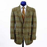 Vintage Scottish Tweed Mens Sport Coat Jacket - 40