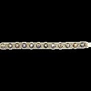Vintage 800 Grade Silver and Enamel Souvenir Netherlands Crest Bracelet