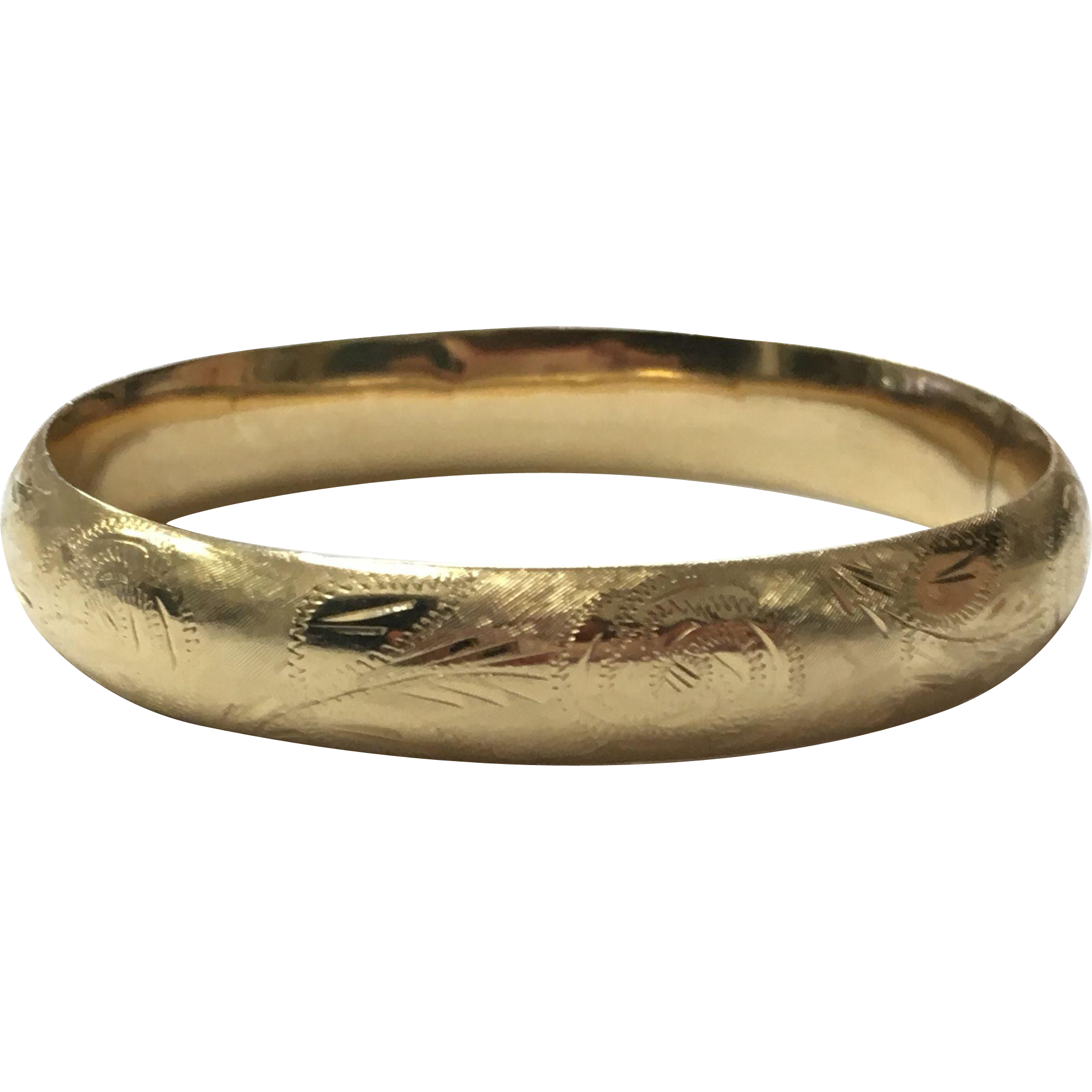 bangles bangle bracelet vintage flexible products gold etched hinged design