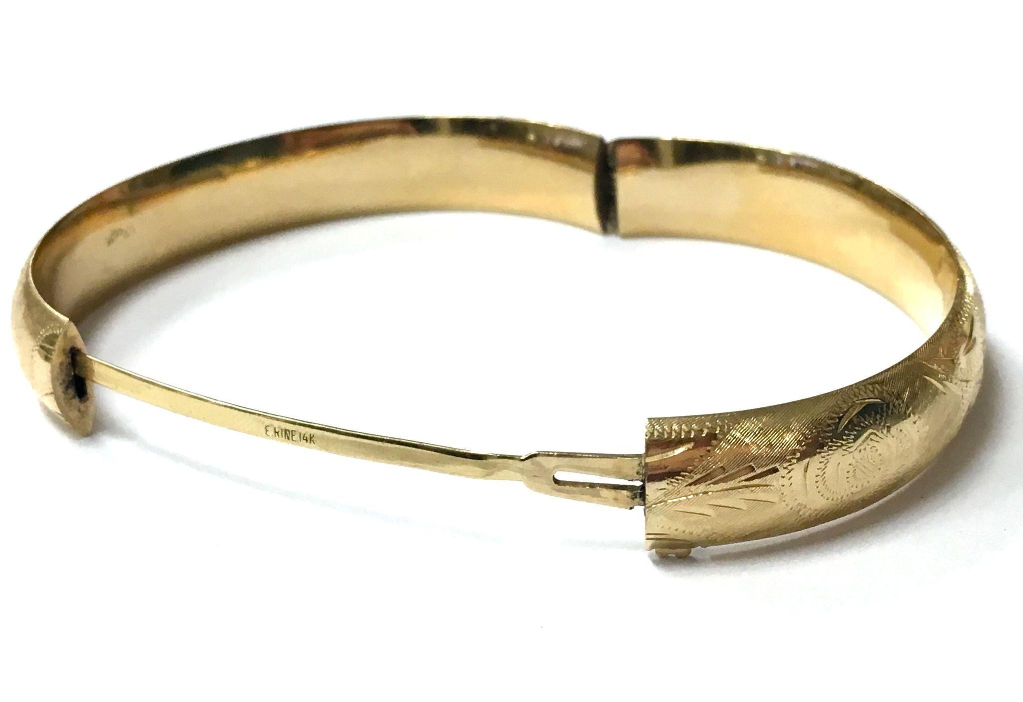 juweliers pin bicolor diamond bangle bracelet with gold bangles stylish carat goldberg