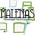 Malena's Vintage Boutique logo