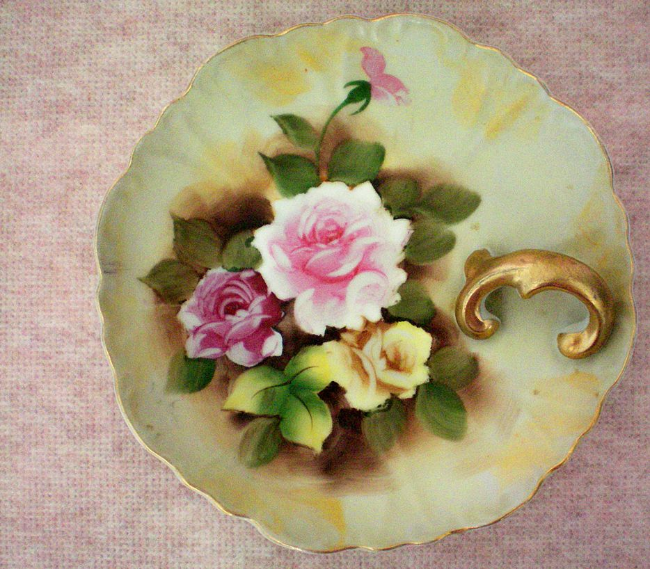 German Porcelain Lemon Dish or Nappy