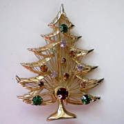 Christmas / Holiday Tree by BROOKS ~ Harp Tree, Signed