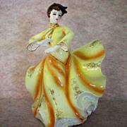 Vintage Dancing Girl Vase or Planter
