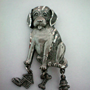 Labrador Retriever Dog Pin by Spoon
