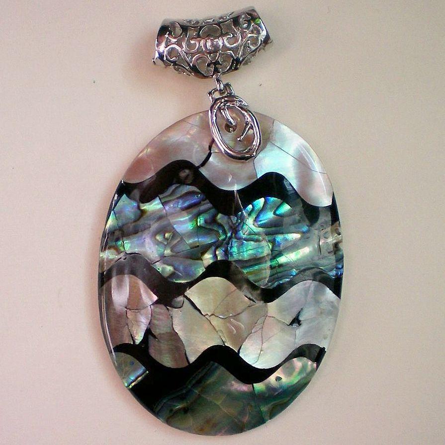 Abalone Shell Artisan Designed Pendant