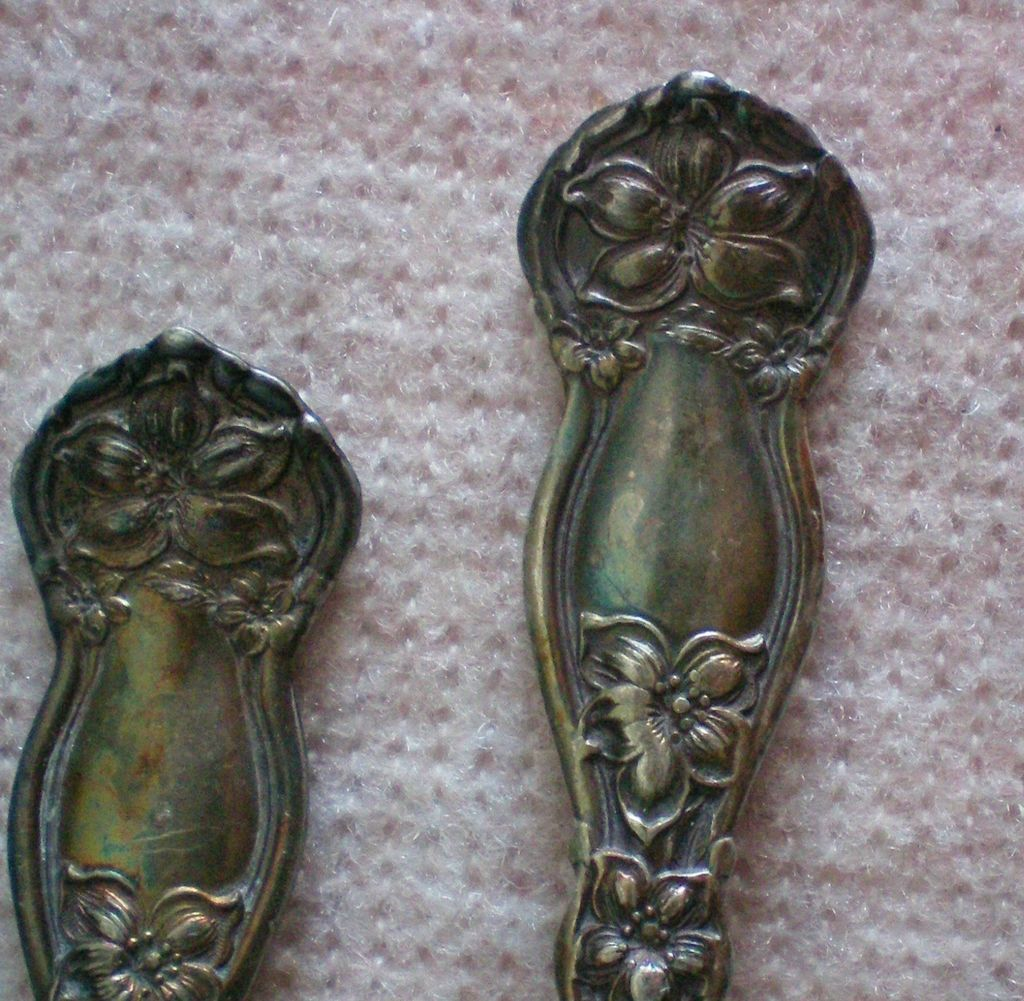 Wm Rogers Orange Blossom set of 4 Teaspoons