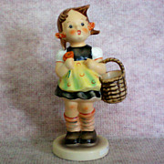 "Hummel ""Sister"" or  Hummel Shopper Figurine"
