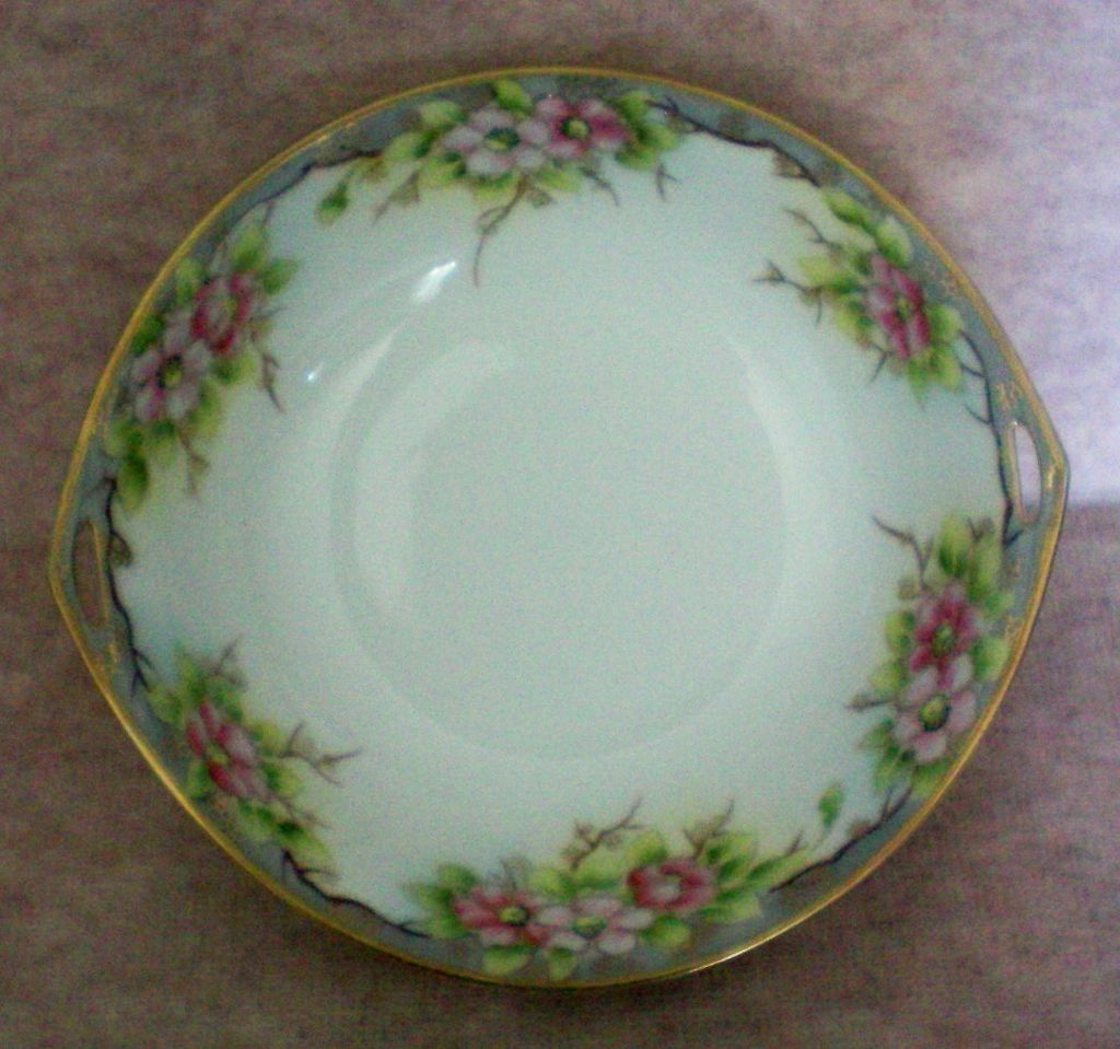 Morimura Brothers Hand Painted Nippon Serving Bowl