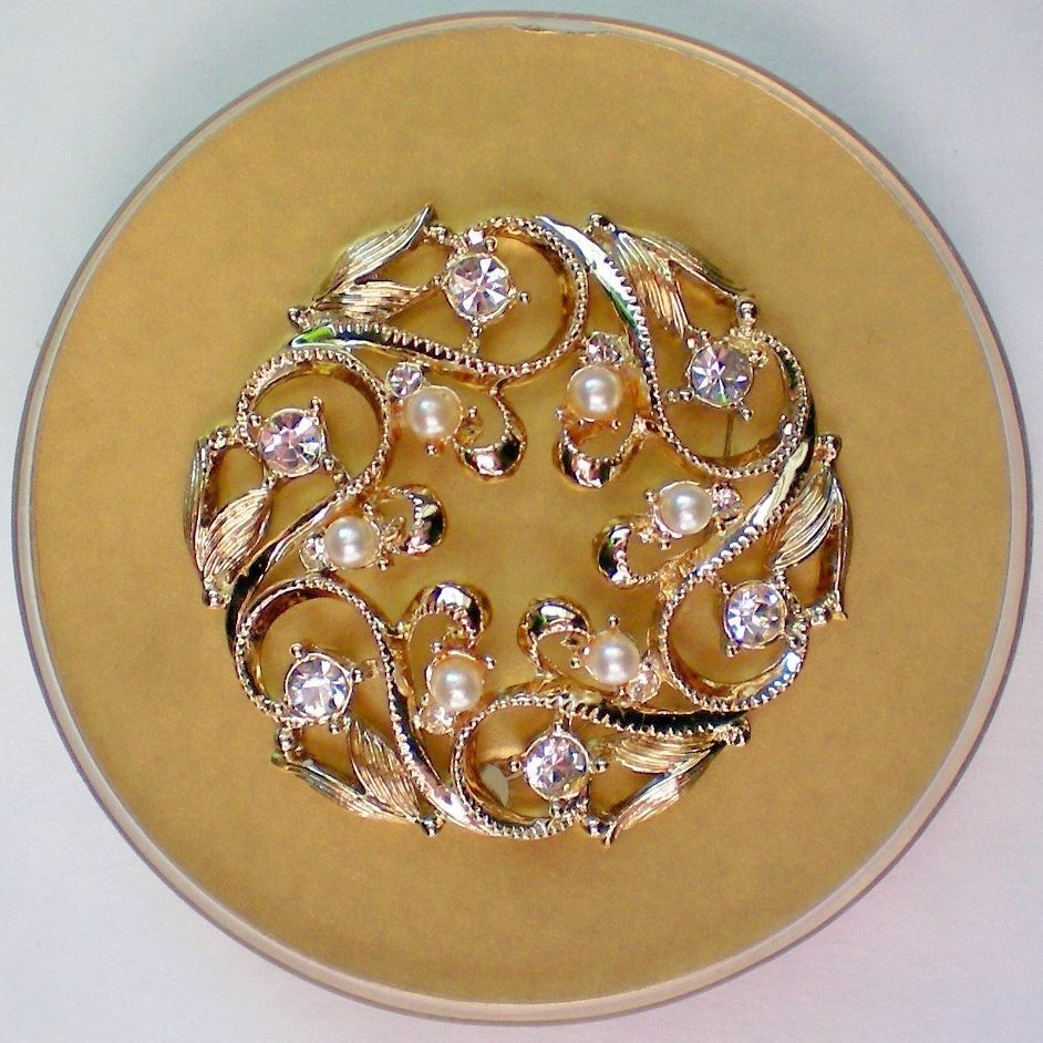Sarah Coventry Brooch in Original Box