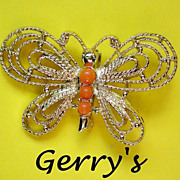 Wire Wing Butterfly by Gerry's