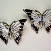 Enamel Butterfly Scatter Pins