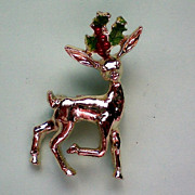 Rudolph Reindeer Holiday Pin by Gerry's