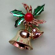 Jingle Bells Holiday / Christmas Pin