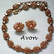 "Avon Designer ""Precious Pretenders"" Necklace & Earrings"