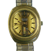 Wittnauer Swiss Movement Stem Wind Men's Watch