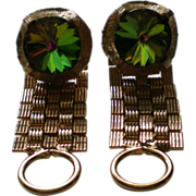 Watermelon Rivoli Wrap Cuff Links