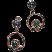 Screw Back Dangle Earrings by B&N in 1/20th 12K Gold