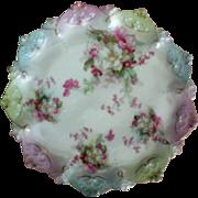 M Z Moritz Zkekauer Austrian Scalloped Edge Cake Plate