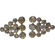 Identical Triangular Rhinestone Scatter Pins
