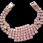 Glitzy Rhinestone Bracelet